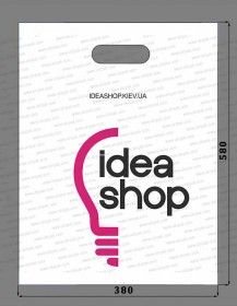Idea Shop pakety s logotipom banan