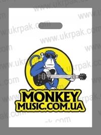 Пакеты банан с логотипом для магазинов музыкальных инструментов